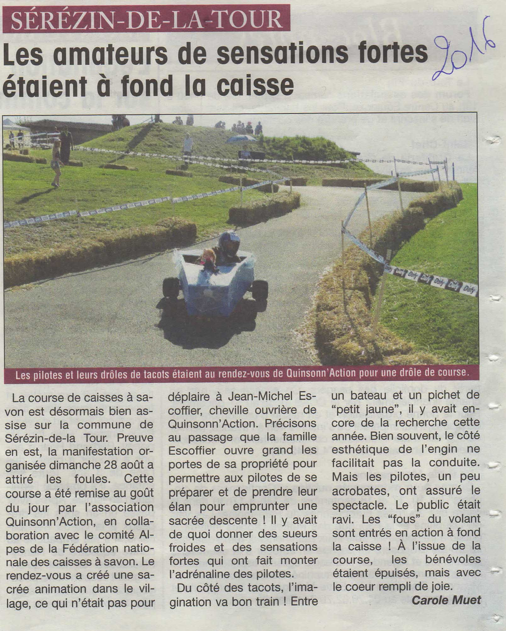 Article Le Courrier Liberte